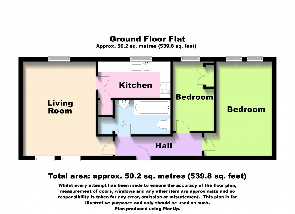 Floorplan for Boswells Drive, Chelmsford